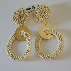 🆕️ Anna & Ava Circle Earrings